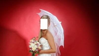 Przepiękna suknia ślubna firmy Sweetheart 5830 + BOLERKO