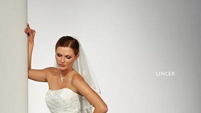 Przepiękna suknia ślubna HERM`S LINCER  rozm. 34
