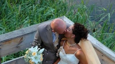Przepiękna suknia ślubna kolor szampana UNIKAT