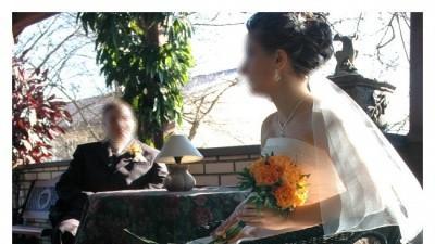 Przepiękna suknia ślubna! Królewskie złoto