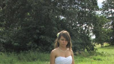 """!!!!!!!Przepiękna Suknia Ślubna!!!!Marki """"Pronovias""""36/38 biała!!!!"""