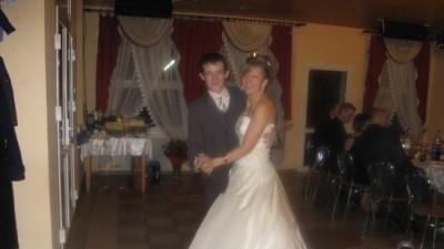 przepiękna suknia ślubna rozm 38 patrycja