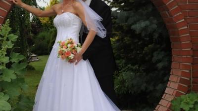Przepiękna suknia ślubna Sweetheart 5917 rozm. 38