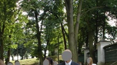 przepiękna suknia ślubna w rozm. 38/40