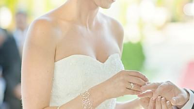 Przepiękna suknia ślubna - white one 424