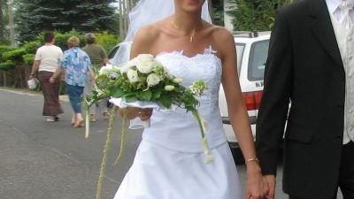 Przepiękna suknia ślubna za 800 zł