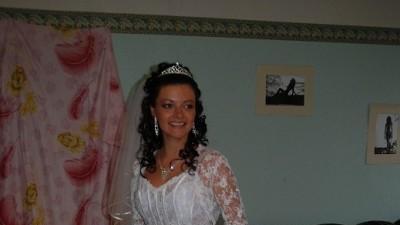 przepiekna suknia z koronkowym gorsetem !!!!!!!