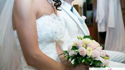 Przepiękna suknia z kryształkami, księżniczka, welon gratis!!!