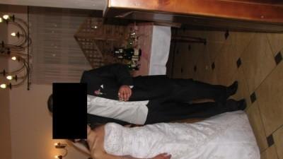 Przepiekną suknie LIPORIO -HERMS tanio