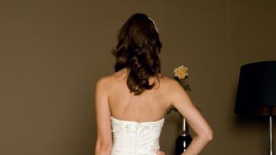 Przepiękna włoska suknia ślubna Evita