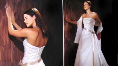 Przepiękna Włoska suknia ślubna z salonu Cymbeline