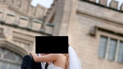 Przepiękna, wyjątkowa suknia ślubna z hiszpańskiej koronki!!