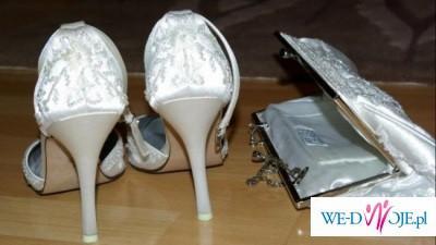 Przepiękne buciki i torebka Carlo Fellini