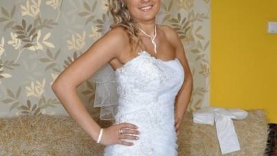 Prześliczana suknia ślubna
