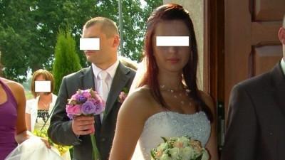 Prześliczna sukania ślubna