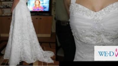 przesliczna suknia