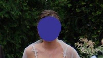 Prześliczna suknia ślubna firmy Herm's model Linsor