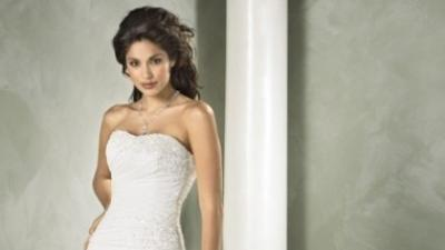 prześliczna suknia ślubna Sara