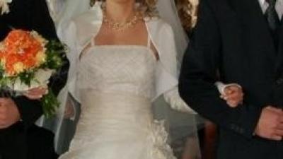 Prześliczna suknia ślubne