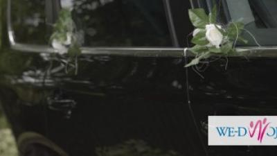 Prześliczny Stroik na twój Ślubny Samochód