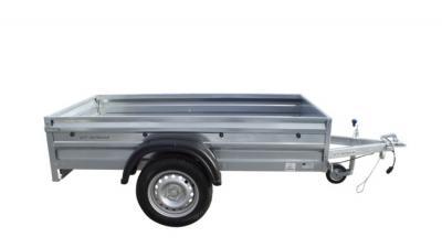 Przyczepka samochodowa 200 x 106 nowa - UNITRAILER