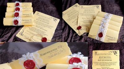 Ręcznie wykonywane personalizowane zaproszenia i kartki 3D