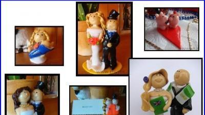 Rękodzieło, ramki, ramki z imieniem, figurki na zamówienie, winietki ślub wesele