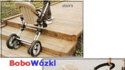 Rewelacyjny wózek wielofunkcyjny jak Bugaboo - gondola i spacerówka. Lekki i zwr