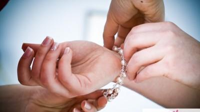 Romantyczna biżuteria ślubna