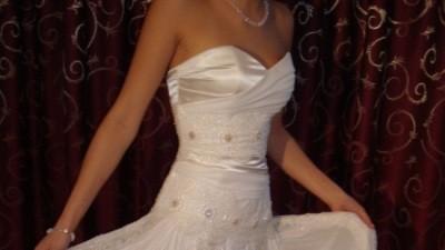 Romantyczna i kobieca suknia ślubna Papilio 925