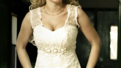 Romantyczna suknia ślubna     Da Vinci (producent KARINA)