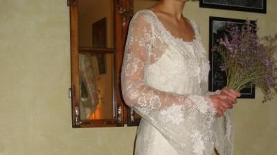 Romantyczna suknia ślubna - sprzedam