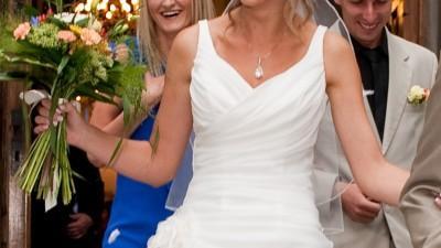 Romantyczna suknie ślubna