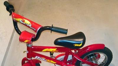 Rowerek czerwony 198zł