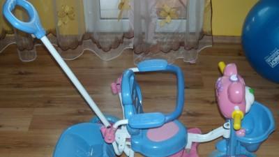 Rowerek dla najmłdszych używany jeden sezon!