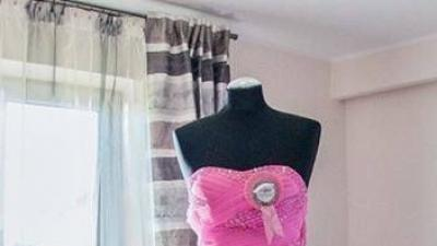 Różowa suknia Pretty women