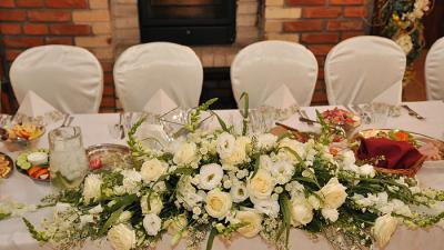 Sala weselna i ślub plenerowy 6 lipca 2019