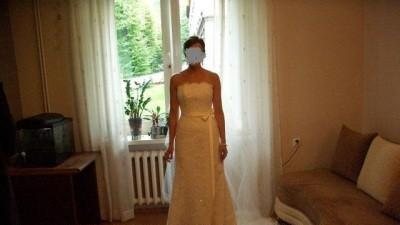 San Partick Bahamas koronkowa suknia ślubna