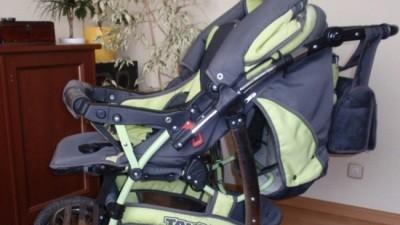 SAprzedam wózek wielofunkcyjny TAKO-Easy Rider z nosidełkiem + materacyk