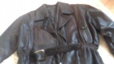 Skórzana kurtka