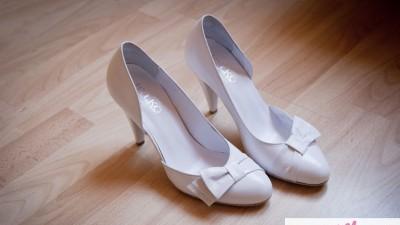 Skórzane buty ślubne RYŁKO