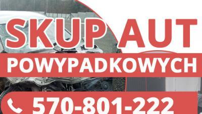 Skup uszkodzonych aut - Skup aut po wypadku,pojazdów zniszczonych