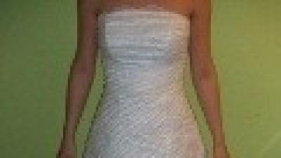 śliczna biała suknia Sophia (model Atena), rozm. 36