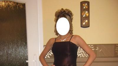 Śliczna długa,fioletowa sukienka