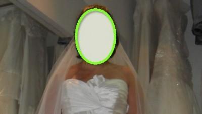 Śliczna hiszpańska suknia ślubna FRESA