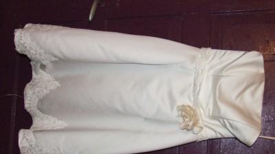 śliczna nietypowa suknia + dodatki