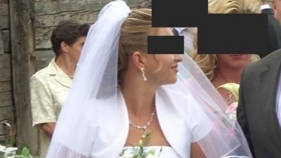 """Śliczna, prosta suknia ślubna""""Celine"""""""