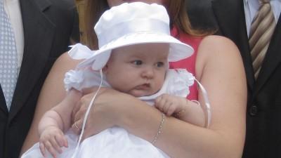 Śliczna sukieneczka do chrztu dla Małej Księżniczki