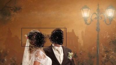 Śliczną sukienkę ślubną:)