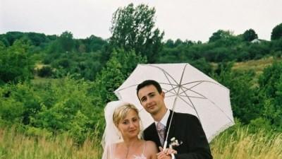 SLiczna sukna ślubna